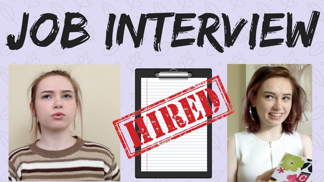 my first job interview my first job interview