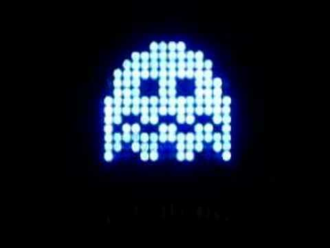 Pac-Man Ghost LED Sign