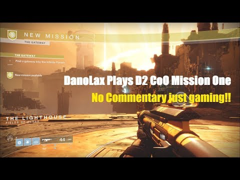 Destiny 2 CoO First Mission
