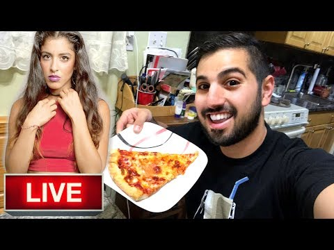LIVE 🔴 PREVIEW OF ΜΑΝΤΙΣΣΑ IN NYC (PIZZA FOR BREAKFAST)