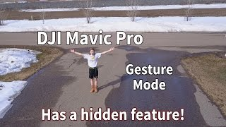 Mavic Pro for Beginners | Gesture Mode - There
