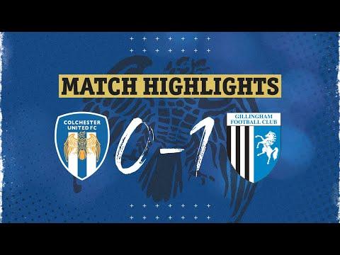 Colchester Gillingham Goals And Highlights