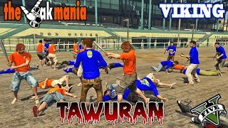 TAWURAN SUPPORTER!! The Jak VS Viking - GTA 5 RAZIA 86 PARODY