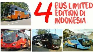 """INI DIA!! 4 BUS """"LANGKA"""" DAN """"LIMITED EDITION"""" DI INDONESIA!"""