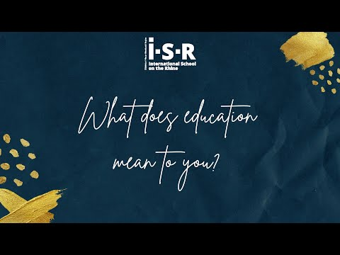International Day Of Education - What does education mean to you?