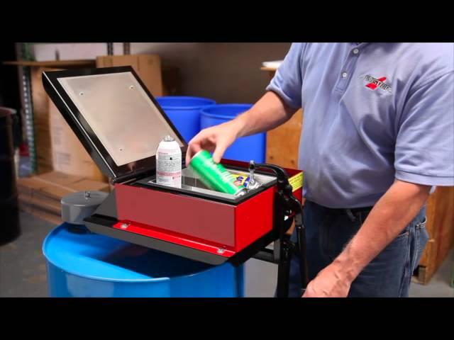 Aerovent 3 Aerosol Can Disposal System by Newstripe
