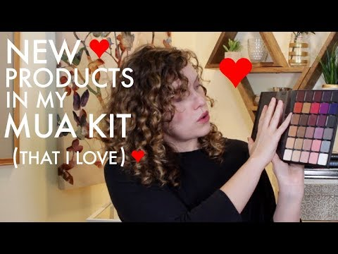 Favorite New Products In My Freelance Makeup Artist Kit -Best MUA Products- Makeup By Shannon Marie
