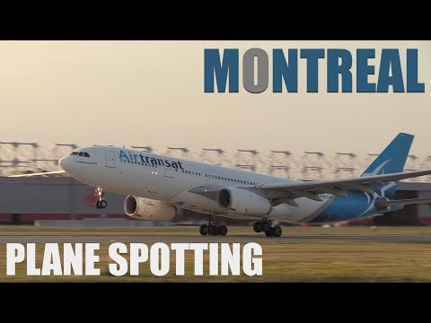 Montreal Airport Plane Spotting August 2019 | A330, 787, 777 + More! #Planespotting YUL