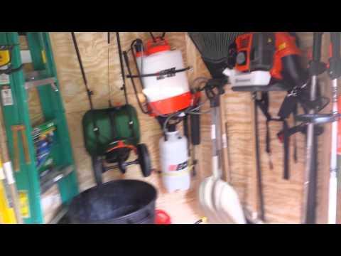 2015 Lawn Care Enclosed Trailer Setup Pt1 Youtube