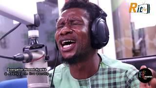 Evangelist Akwasi Nyarko, Very inspiring and Powerful @ Adehye3 FM Live worship