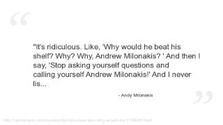 Andy Milonakis Quotes