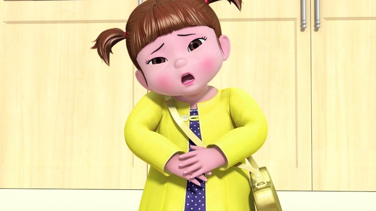 Download Kongsuni and Friends   Tummy Ache   Kids Cartoon   Toy Play   Kids Movies   Videos for Kids