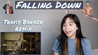 Lil Peep & XXXTENTACION - Falling Down (Travis Barker Remix) | REACTION