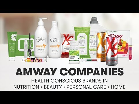 Amway Companies: Health-Conscious Brands in Nutrition, Beauty, Personal Care and Home | Amway