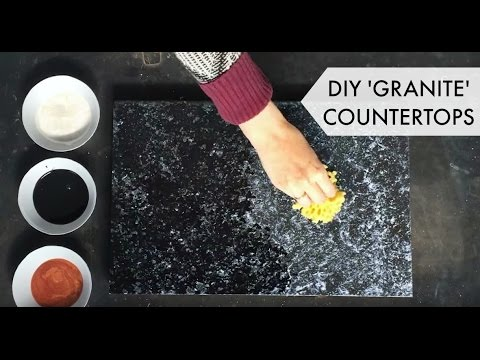 Bombay Black Kit (Application Tips) - Giani Countertop Paint - YouTube