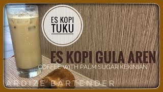 Resep Minuman - ES Kopi TUKU (palm sugar coffee) viral, anti gagal