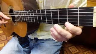 """Любэ """"Конь""""   разбор на гитаре Учимся играть мелодию"""