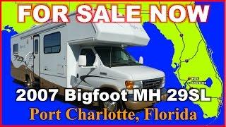 2007 Bigfoot RV Bigfoot MH29SL Used Class C Motorhome, Florida, Punta Gorda, Ft Myers