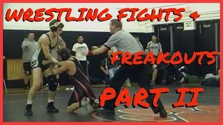 Craziest Wrestling Fights and Freakouts Compilation (Wrestling Gone Wrong) Part 2