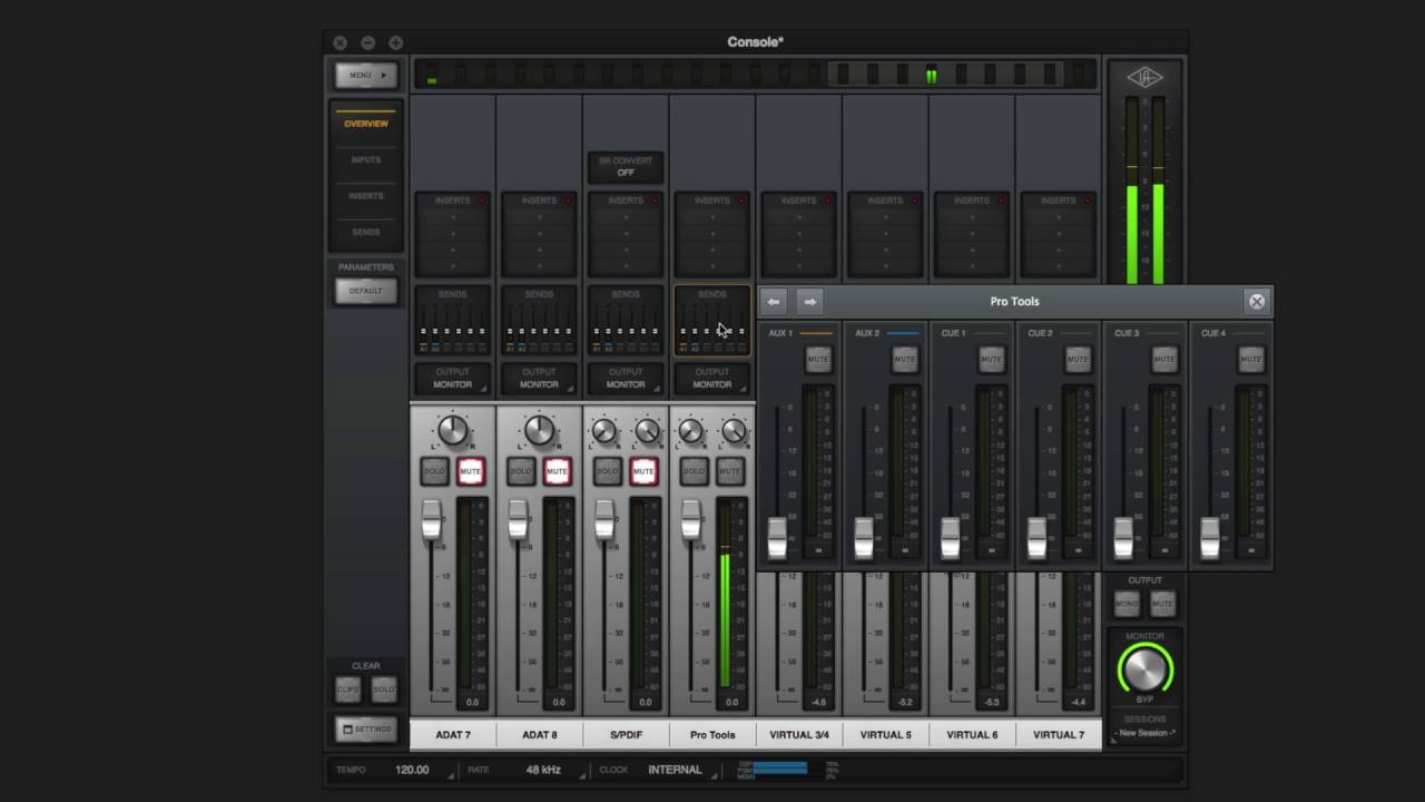 Setting up Cue Mixes in Console and Your DAW – Universal