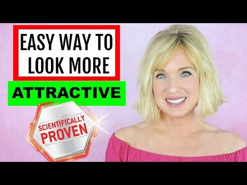 HOW TO INSTANTLY LOOK MORE ATTRACTIVE (SCIENTIFICALLY PROVEN!) thumbnail