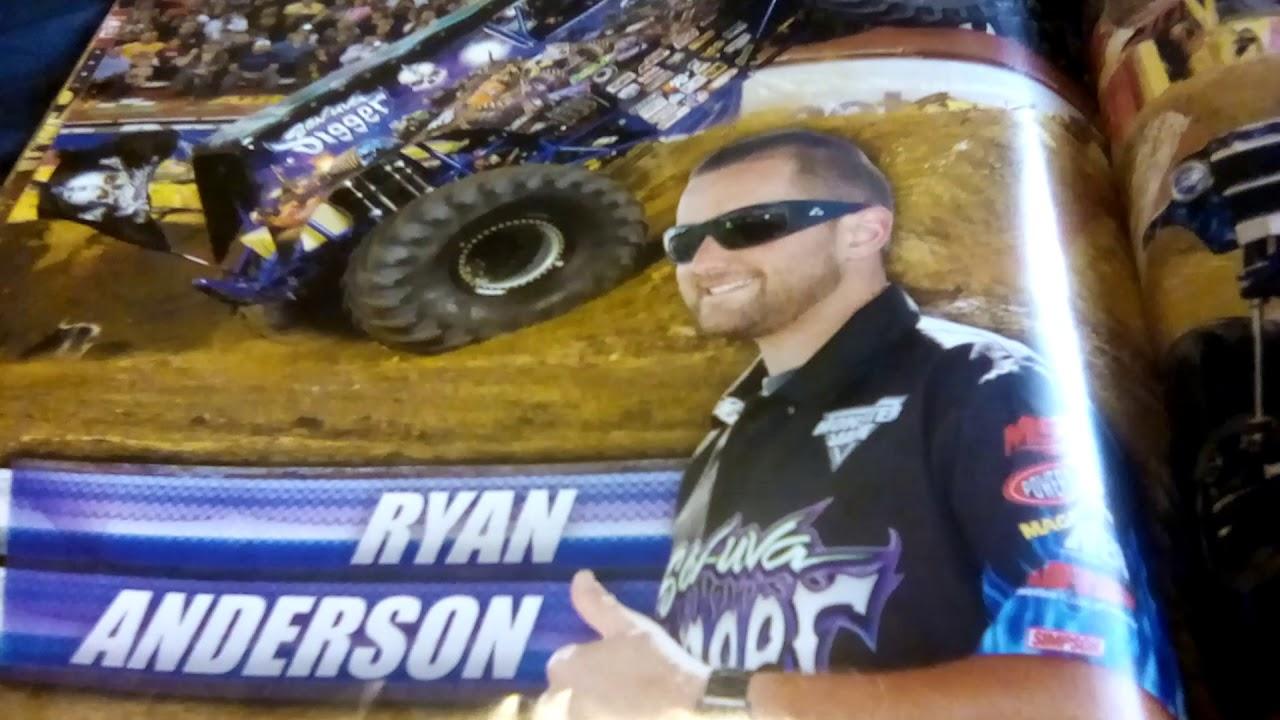 Ryan anderson is a beast monster jam