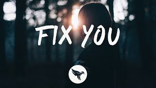 Danny Olson - Fix You (Lyrics) ft. Jadelyn [Coldplay Cover]