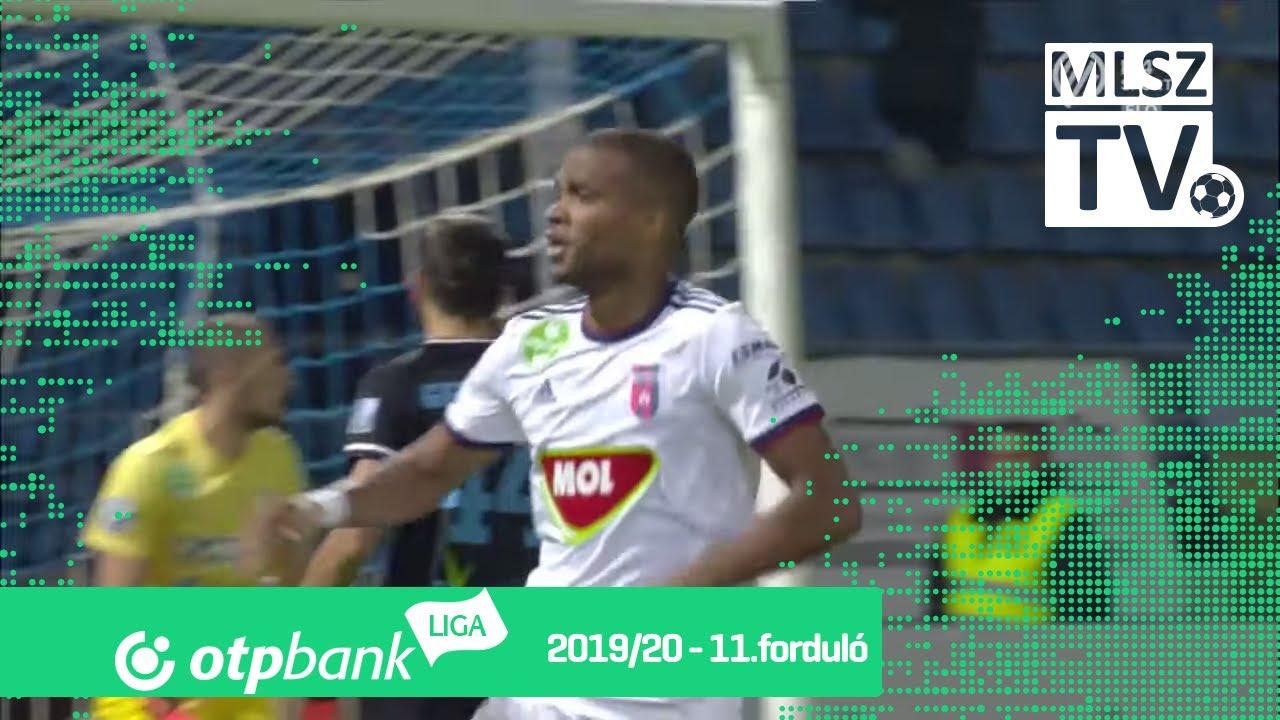 Nego Loic gólja a ZTE FC – MOL Fehérvár FC mérkőzésen ...