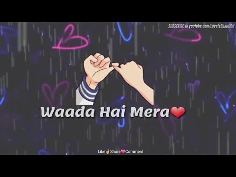 Hamdard | Ek Villain | Video Status | Arijit Singh | Mithoon | Love Romantic Sad WhatsApp Status