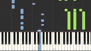 "Elton John ""Never Too Late"" (Lion King 2019), Piano Sheet Music Synthesia Preview - my-piano.info"
