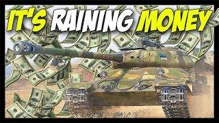► IT IS RAINING MONEY! - World of Tanks Tier 8 Premium Tanks
