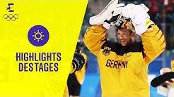 Eishockey-Sensation! Deutschland im Finale | Tag 14 | Olympische Winterspiele 2018 | Eurosport