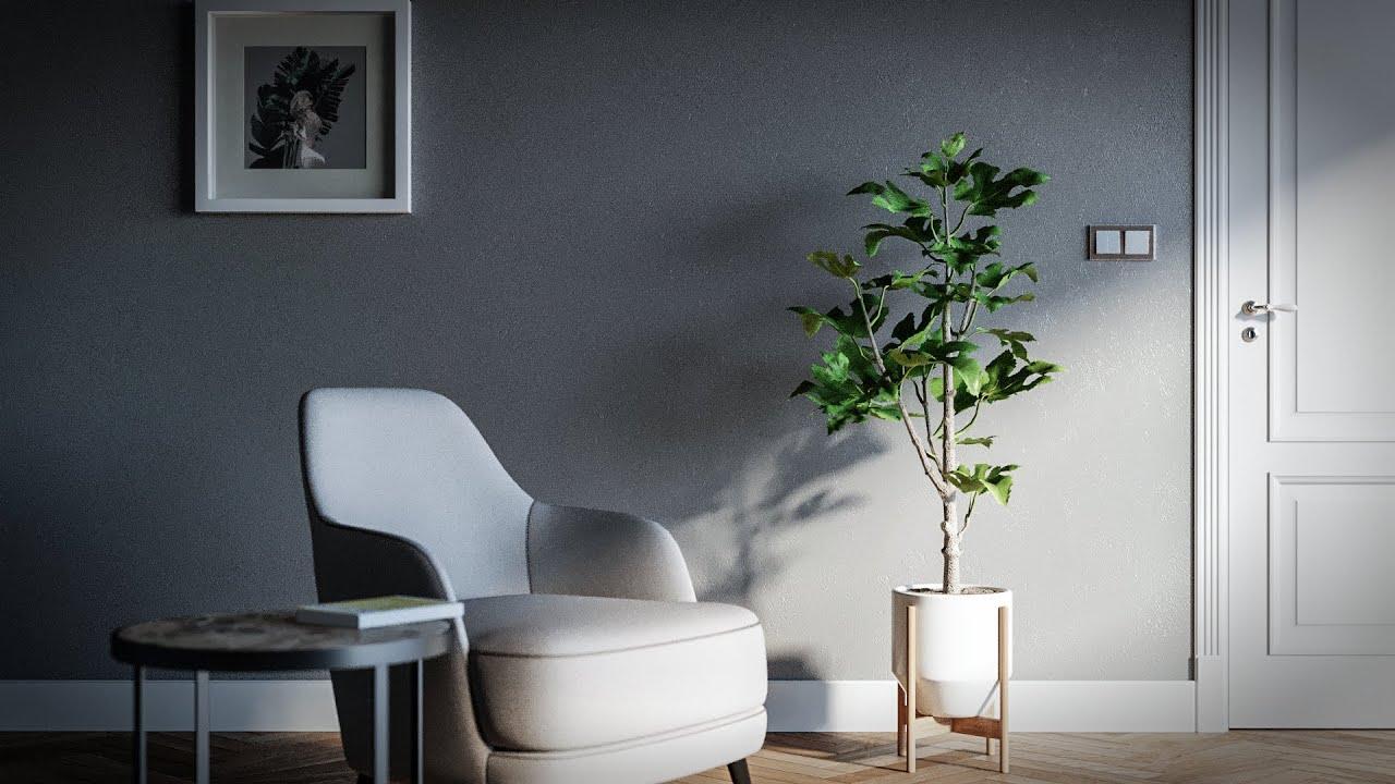 3ds Max – Corona Render (Interior Design Tutorial)