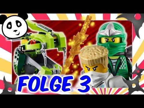 Lego Ninjago deutsch - Die Rückkehr des 4-köpfigen Drachens 3 Lego Film #VinesDC_HD