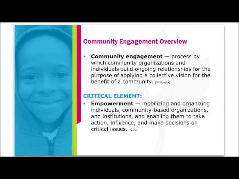 Engaging for Change: Community Mobilization