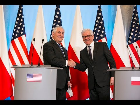 Joint Press Conference With Polish Foreign Minister