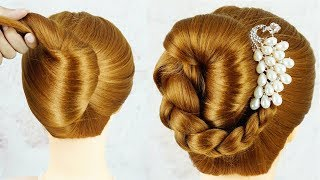 Quick Andamp Easy Self Hairstyles For Girls  Bridal Hairstyles  Wedding Hairstyle For Girls