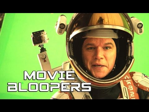 THE MARTIAN Bloopers Gag Reel (2015) Matt Damon