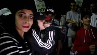 Lya & Azzy Vs Knust & Doug - Desafio Do Tanque - 211º Batalha Do Tanque - 2016