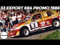 MG Metro 6R4 - 1986 Promotional Compilation - Didier Auriol & Bernard Occelli