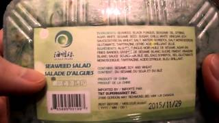 Review Ocean Pearl Seaweed Salad