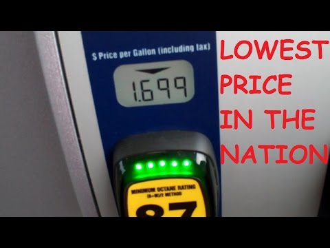 Lowest Gas Prices in the Nation