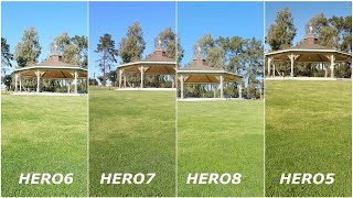 GoPro HERO8 versus 5 6 7  Comparing the Kings of Action Cameras - Low Light at end of video