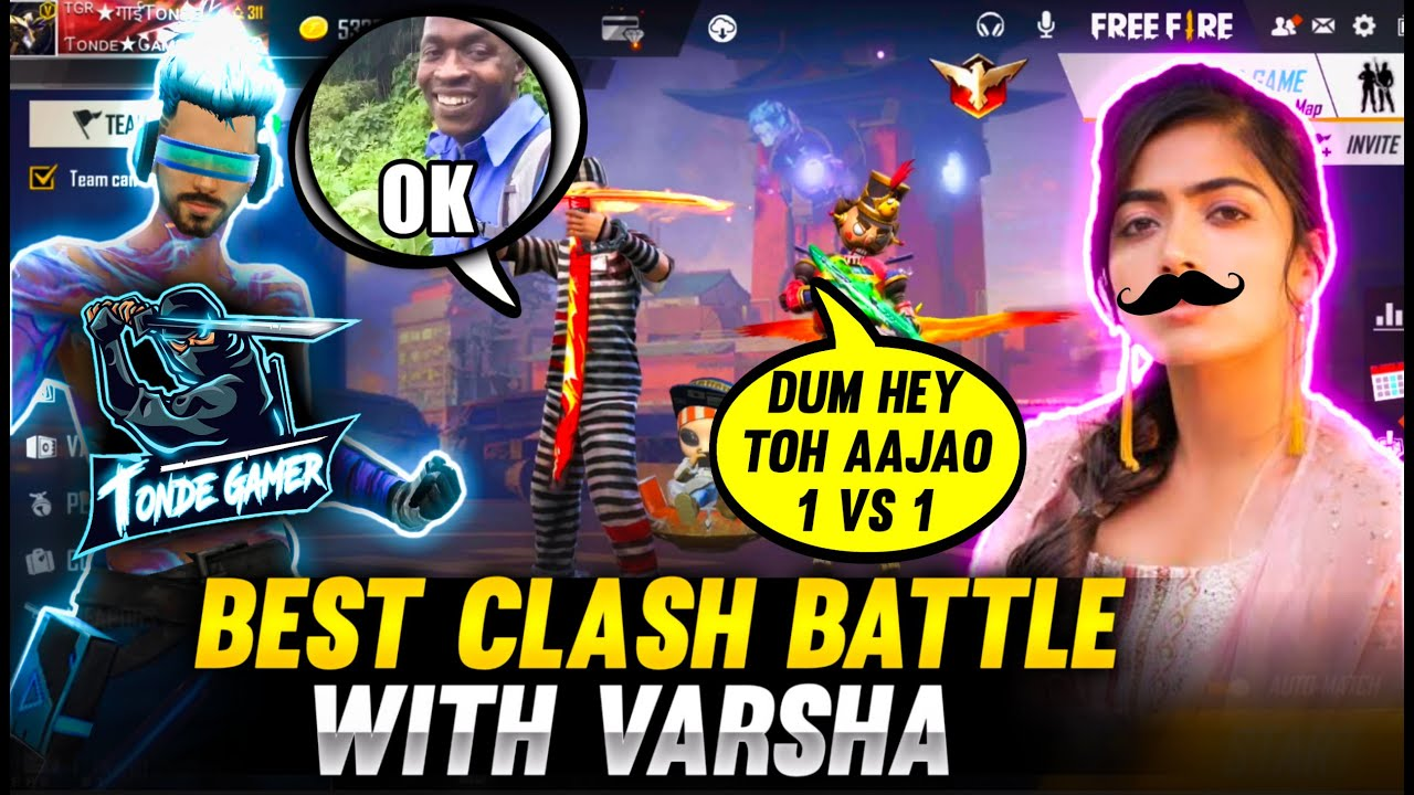Pro Random Girl or Maybe Boy Challenged me For 1 Vs 1 - Who will Win?? Garena Free Fire