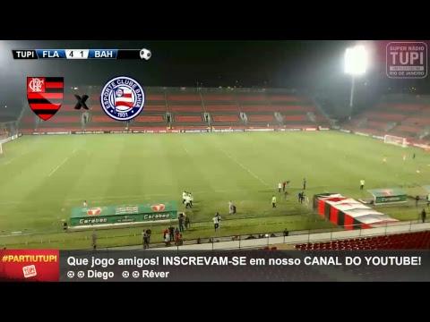 Flamengo x Bahia - 29ª Rodada - Brasileirão - 19/10/2017 - AO VIVO