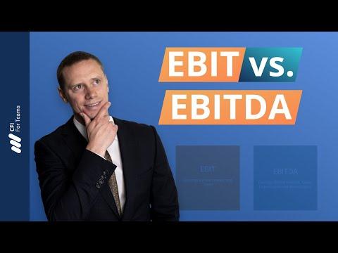 EBIT vs. EBITDA