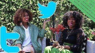 Dramatic Reading of Epic Twitter Wars - GloZell & That Chick Angel xoxo