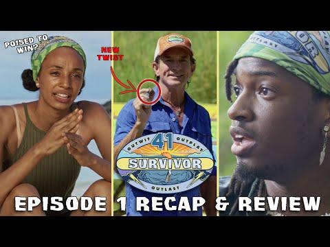 Survivor 41 Episode 1 Recap & Review: New Era, New Twists, New Cast