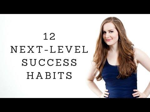 12 Next-Level Success Habits ⭐  #GIRLBOSS