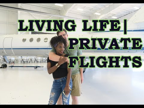 Our Experience On Our First Private Flight